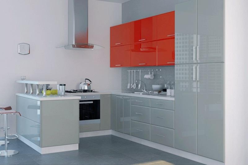 Яркая кухня на заказ