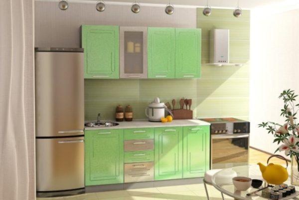Зеленая кухня на заказ