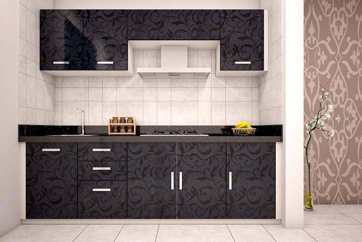 Черная кухня на заказ