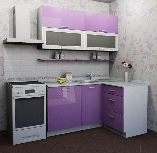 маленькая кухня МДФ