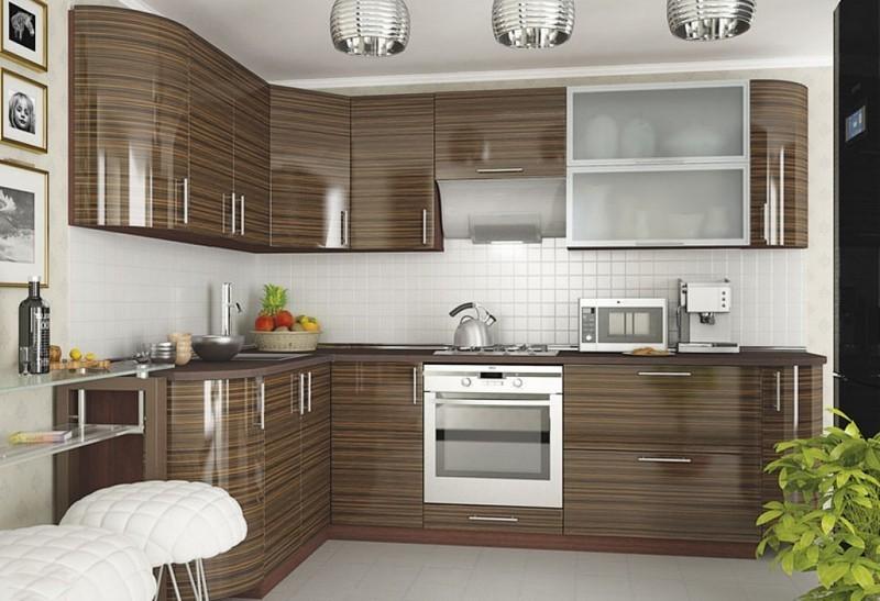 кухня угловая платик