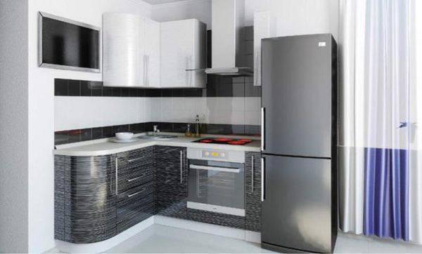 стильный кухонный гарнитур